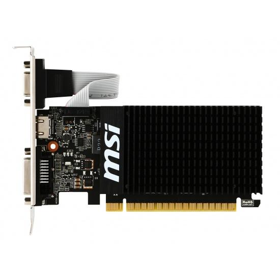 MSI GeForce GT 710 1GB GDDR3 Graphics Card Image