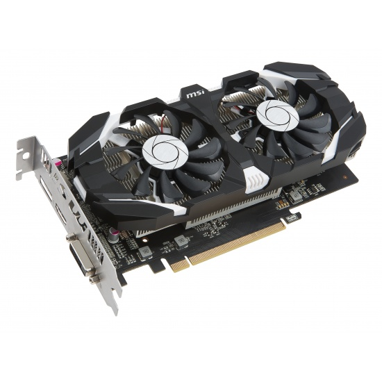 MSI GeForce GTX 1050 TI 4GB OC GDDR5 Graphics Card Image