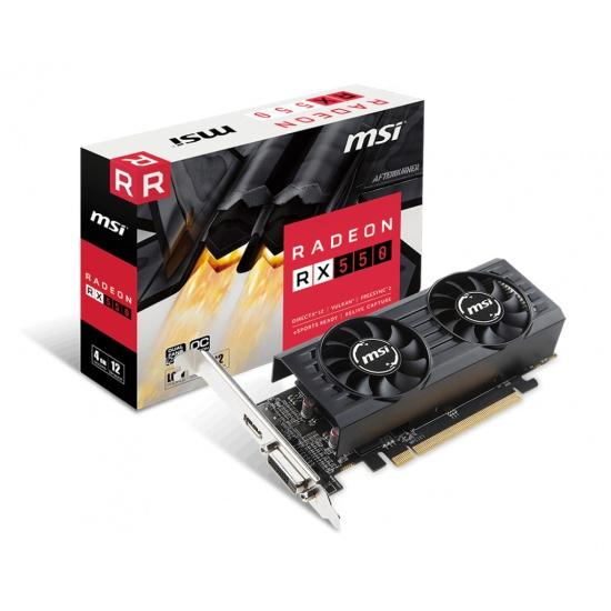MSI Radeon RX 550 4GB GDDR5 Graphics Card Image