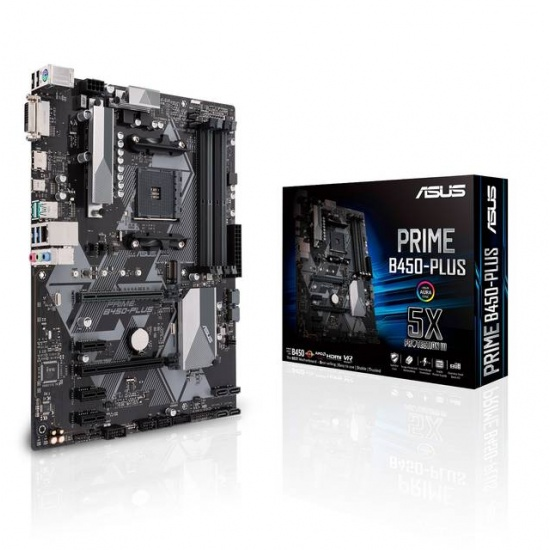 Asus Prime AMD B450 AM4 ATX DDR4 Motherboard Image