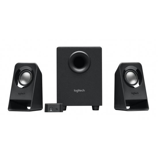 Logitech Z213 7 Watt 2.1 Channel Speaker System - Black Image