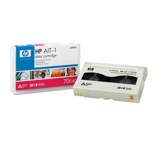 HP AIT-1 70GB Enterprise Data Cartridge Tape Image