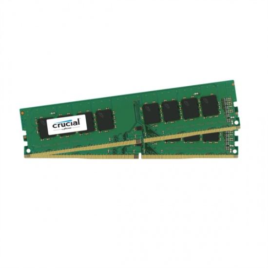 16GB Crucial DDR4 PC4-19200 2400MHz CL17 1.2V Dual Memory Kit (2 x 8GB) Image