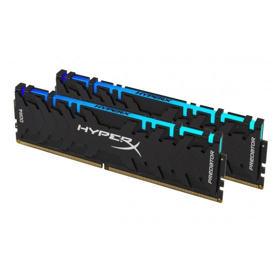16GB Kingston HyperX Predator K2 DDR4 3600MHz CL17 Dual Memory Kit (2 x 8GB) Image