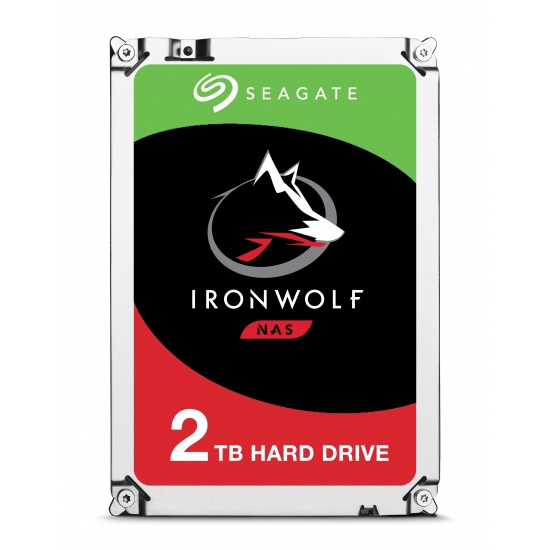 2TB Seagate IronWolf Serial ATA III 6Gbps 64MB Cache 5900RPM 3.5-inch Internal Hard Drive Image