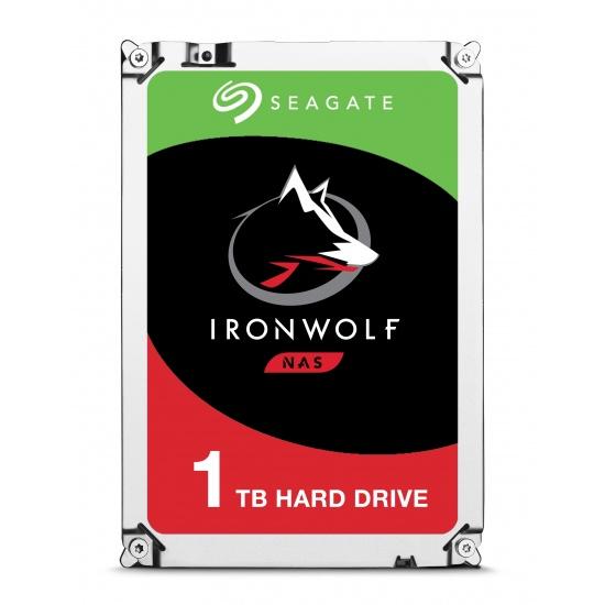 1TB Seagate IronWolf 3.5-inch 5900RPM SATA III 6Gbps 64MB Cache Internal Hard Drive Image