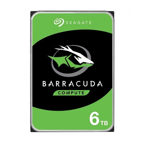 6TB Seagate Barracuda 3.5-inch SATA III 6Gbps 5400RPM 256MB Cache Internal Hard Drive Image