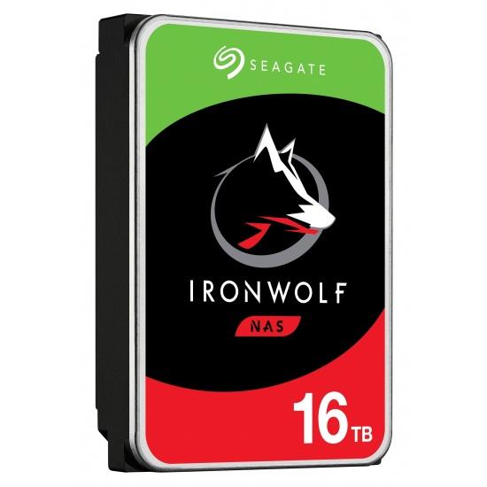 16TB Seagate IronWolf 3.5-inch 7200RPM SATA III 6Gbps 256MB Cache Internal Hard Drive Image