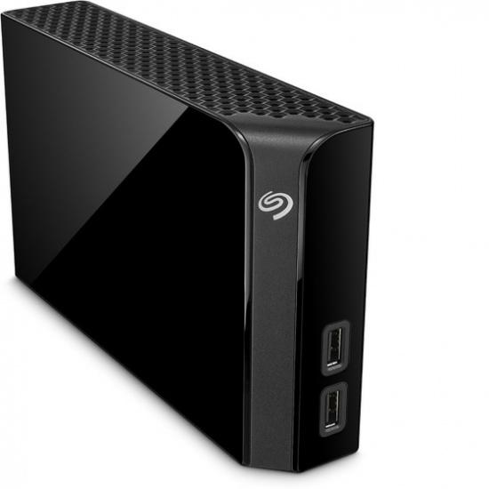4TB Seagate Backup Plus Hub USB3.2 External Hard Drive - Black Image