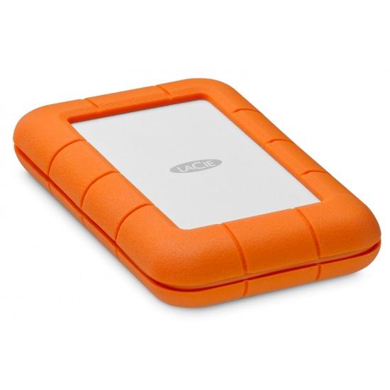 4TB Seagate LaCie 2.5-inch USB3.2 External Portable Hard Drive - Orange Image