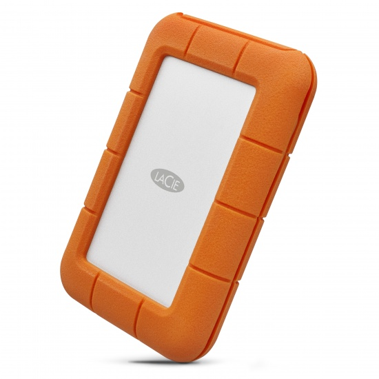 5TB Seagate LaCie Rugged Mini USB3.2 External Hard Drive - Orange Image