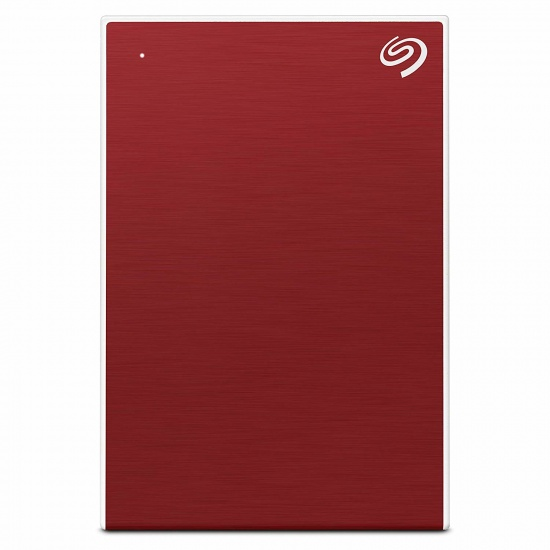 2TB Seagate Backup Plus Slim USB3.2 External Hard Drive - Red Image
