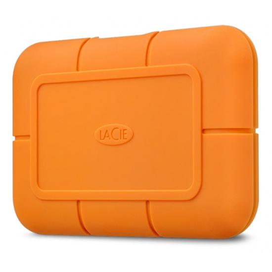 1TB Seagate LaCie USB3.1 External Solid State Drive - Orange Image