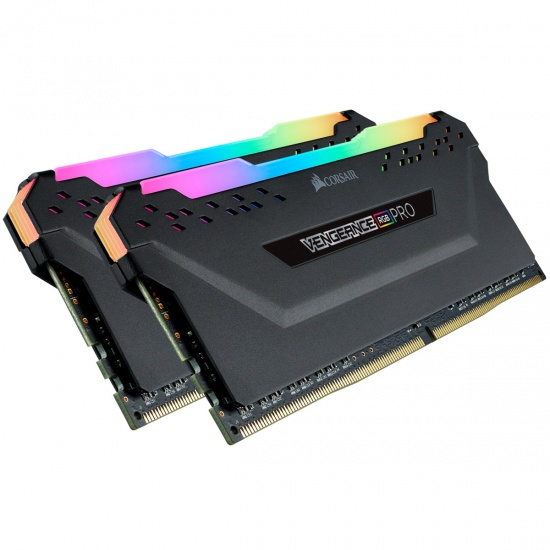 16GB Corsair Vengeance RGB Pro 3600MHz CL18 Dual Memory Kit (2 x 8GB) Image