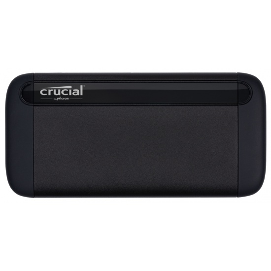 1TB Crucial X8 USB3.1 Portable External Solid State Drive - Black Image
