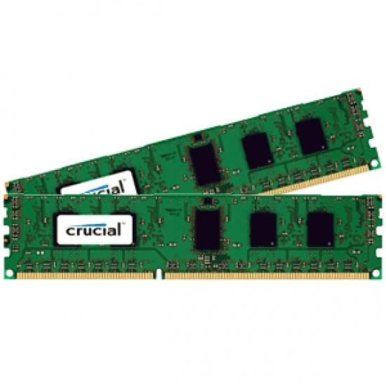 8GB Crucial PC3-12800 1600MHz 1.35V CL11 DDR3 Dual Memory Kit (2 x 4GB) Image