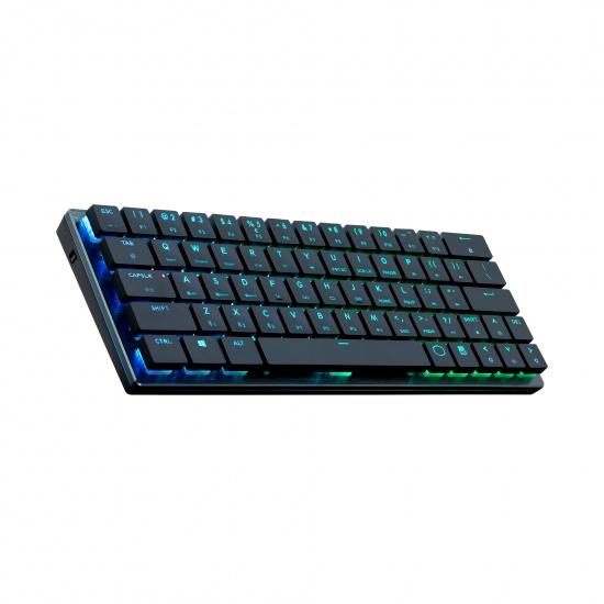 Cooler Master Gaming SK621 Black Keyboard USB + Bluetooth QWERTZ - German Layout Image