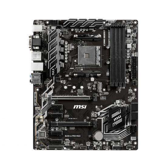 MSI Pro Max AMD B450-A AM4 ATX DDR4-SDRAM Motherboard Image