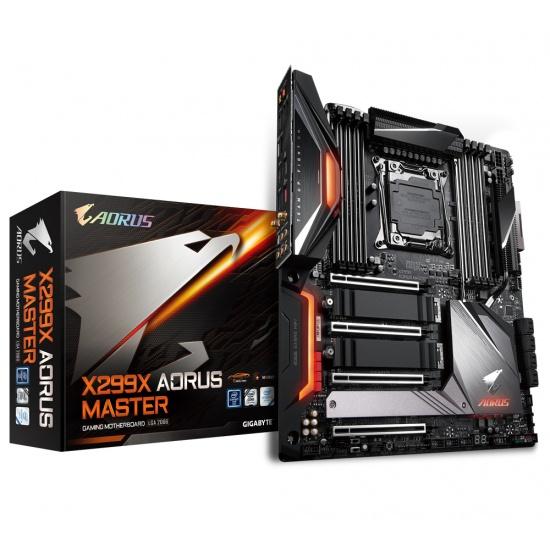 Gigabyte Aorus Master Intel X299 LGA 2066 ATX DDR4-SDRAM Motherboard Image