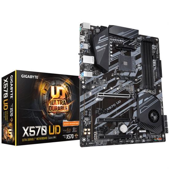 Gigabyte UD AMD X570 AM4 ATX DDR4-SDRAM Motherboard Image