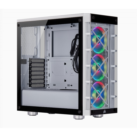 Corsair 465X RGB Midi Computer Tower - White Image