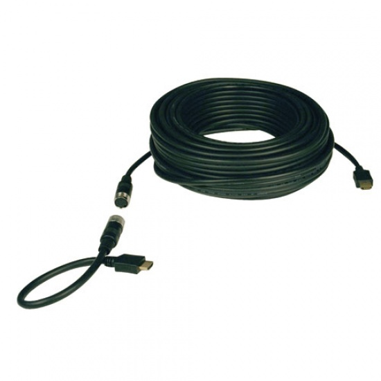 Tripp Lite 50FT Easy Pull Standard Speed HDMI Cable - Black Image