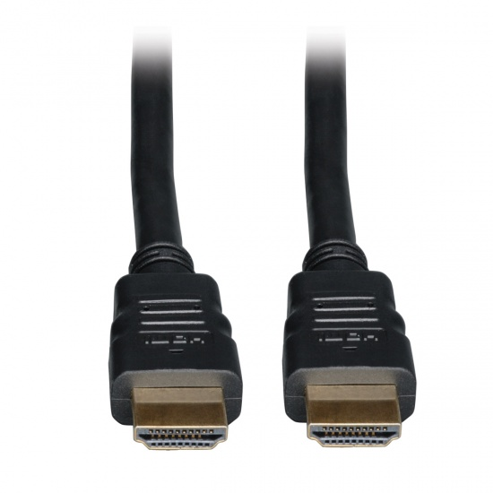Tripp Lite 16FT High Speed HDMI Cable with Ethernet Ultra HD Digital Video with Audio - Black Image