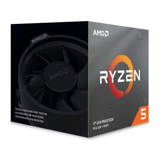AMD Ryzen 5 3600XT 3.8GHz AM4 CPU Desktop Processor Boxed Image