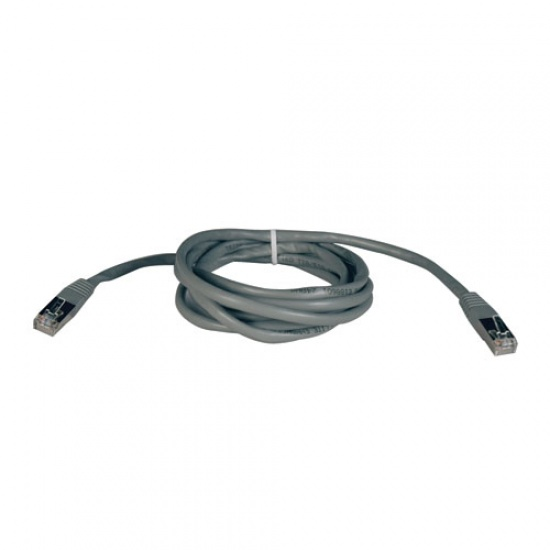 Tripp Lite 50FT RJ45 Male to RJ45 Male Cat5e 350MHz Molded Shielded STP Patch Cable - Grey Image