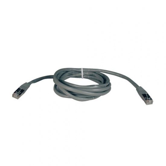 Tripp Lite 10FT RJ-45 Male to RJ-45 Male Cat5e 350MHz Molded Shielded STP Patch Cable - Grey Image