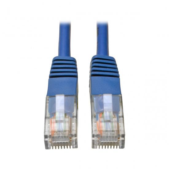 Tripp Lite 4FT RJ45 Male to RJ45 Male Cat5e 350MHz Molded Patch Cable - Blue Image