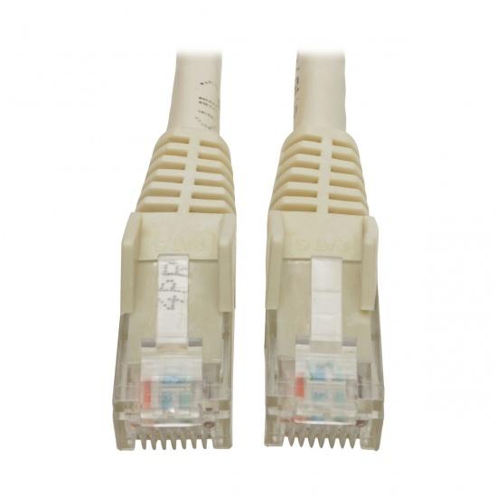 Tripp Lite 4FT RJ45 Male to RJ45 Male Premium Cat6 Gigabit Snagless Molded UTP Patch Cable - White Image