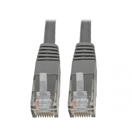 Tripp Lite 20FT RJ45 Male to RJ45 Male Premium Cat6 Gigabit Molded Patch Cable - Grey Image