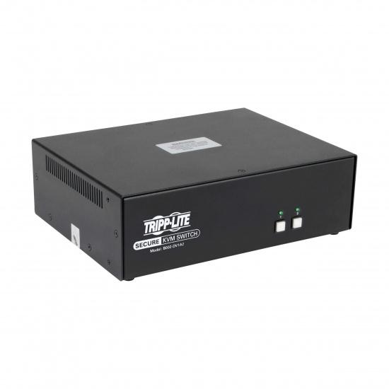 Tripp Lite 2 Port DVI to DVI PP3.0 Certified Secure KVM Switch Image