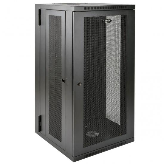 Tripp Lite 19-Inch 26U Wall Mountable Rack Enclosure Server Cabinet - Black Image