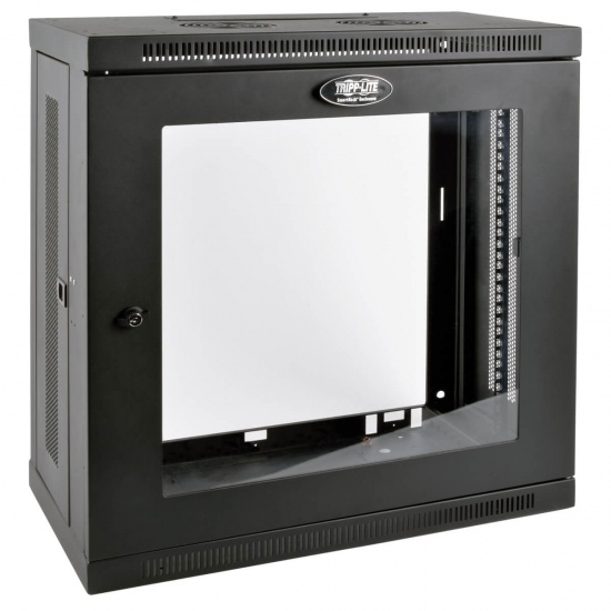 Tripp Lite 19-Inch 12U Wall Mount Rack Enclosure Server Cabinet - Black Image
