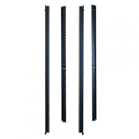 Tripp Lite Vertical Rack Mount Rails for 42U Racks - Black Image