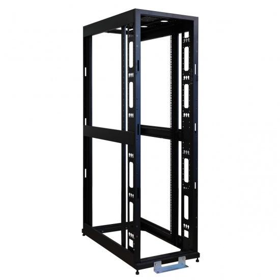 Tripp Lite 45U 4 Post Open Frame Rack Cabinet - Black Image
