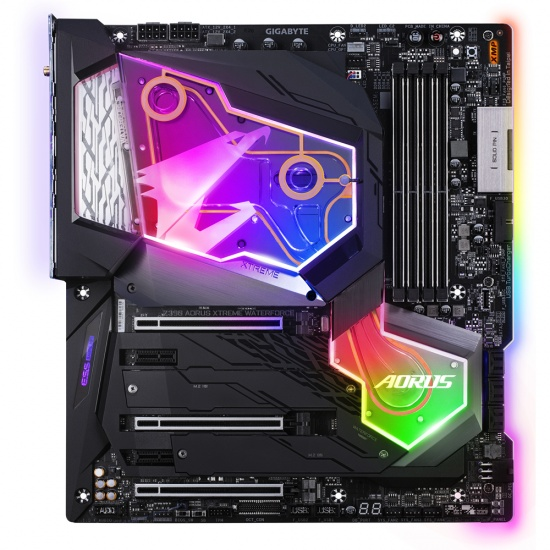 Gigabyte Intel Z390 Aorus Xtreme Waterforce LGA 1151 Socket H4 Extended ATX Motherboard Image
