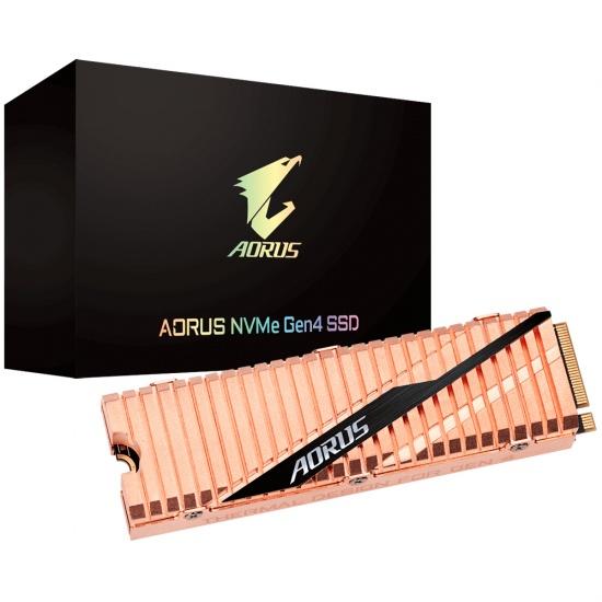 500GB Gigabyte AORUS M.2 PCI Express 4.0 3D TLC NVMe Internal Solid State Drive Image