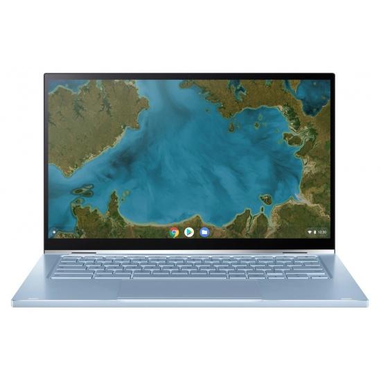 Asus Intel i5-8200Y 8GB DDR3-SDRAM 14-inch Chromebook - Blue, Silver Image