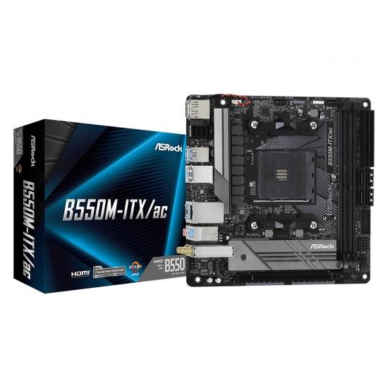 Asrock AMD B550 AM4 Mini ITX DDR4-SDRAM Motherboard Image