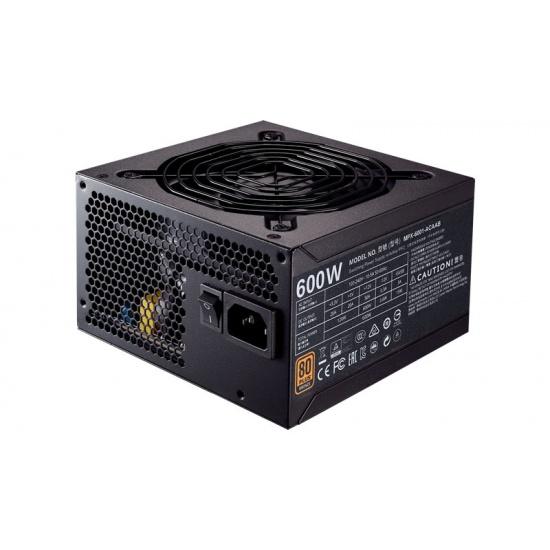 Cooler Master MWE Bronze 600 Watt 20+4 Pin ATX Power Supply - Black Image