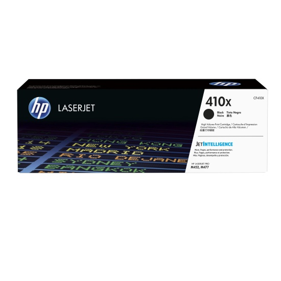 HP 410X Toner Cartridge - Black Image