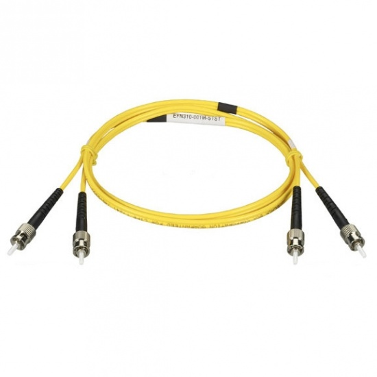 9.8FT Black Box LC To ST Fiber Optic Cable - Yellow Image