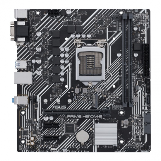 ASUS PRIME H510M-E Intel H510 Micro ATX DDR4-SDRAM Motherboard Image