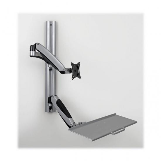 Tripp Lite Single-Display Sit-Stand Wall Mount Workstation Image