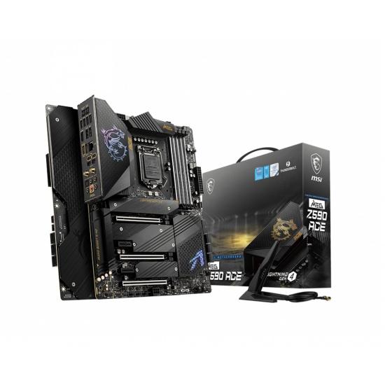 MSI MEG Z590 ACE Intel Z590 LGA 1200 ATX DDR4-SDRAM Motherboard Image