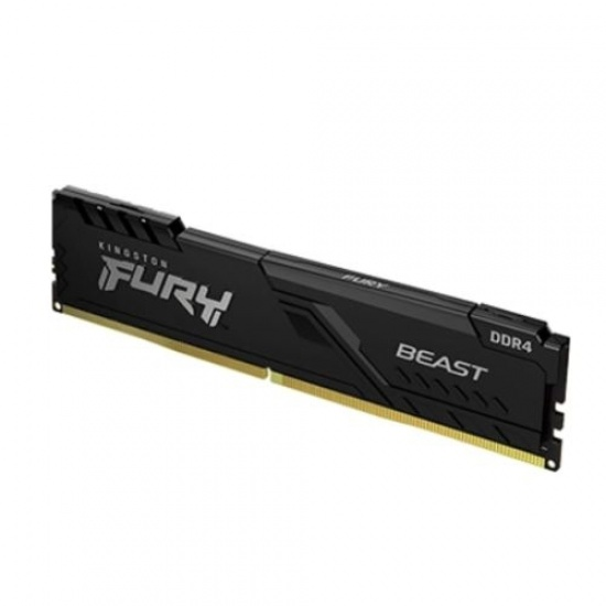 16GB Kingston Fury Beast 2666MHz PC4-21400 CL16 DDR4 Single Memory Module (1x16GB) Image