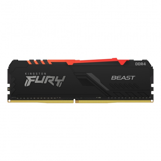 32GB Kingston Technology FURY Beast RGB 3200MHz DDR4 Memory Module (1 x 32GB) Image